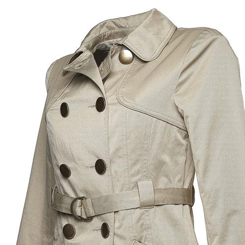 Giacca da donna in stile Trench Coat bata, giallo, 979-8560 - 16