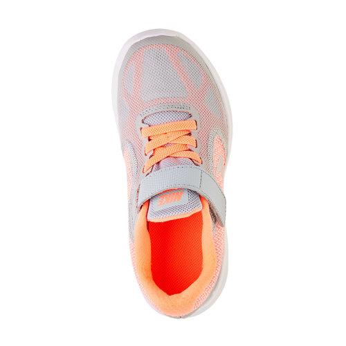 Sneakers sportive da bambino nike, arancione, 309-8172 - 19