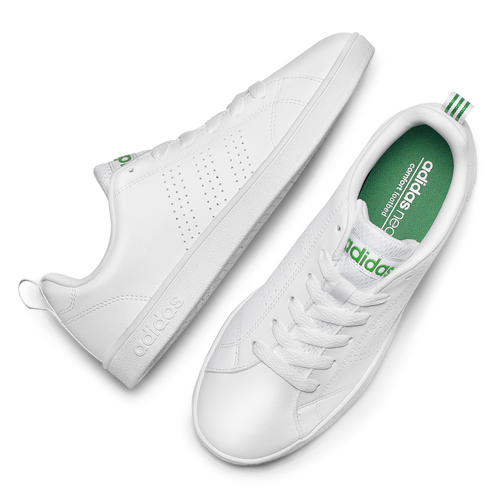 Sneakers bianche da donna adidas, bianco, 501-1300 - 19