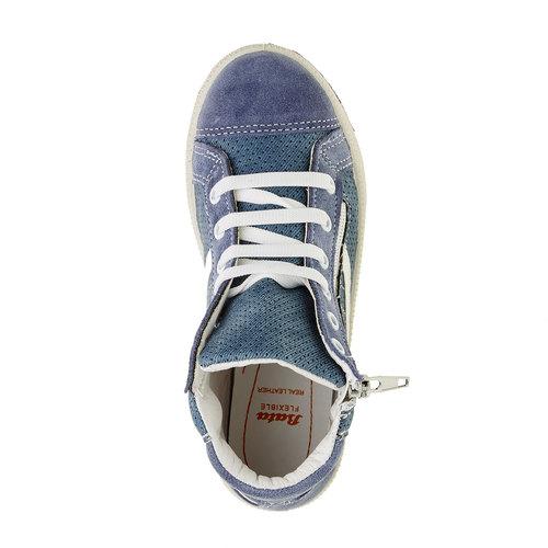 Sneakers da bambino alla caviglia flexible, blu, 311-9194 - 19