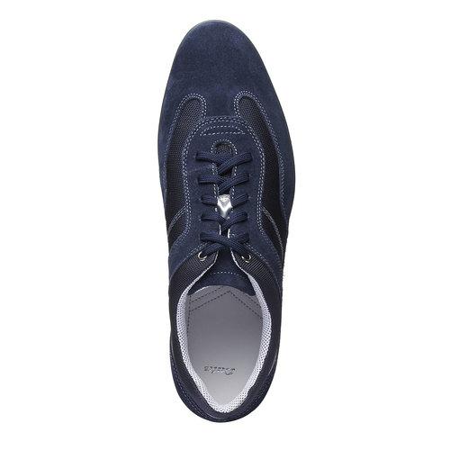 Sneakers informali di pelle bata, viola, 823-9987 - 19