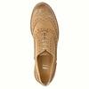 Scarpe di pelle in stile Oxford con decorazioni Brogue bata, marrone, 524-3482 - 19