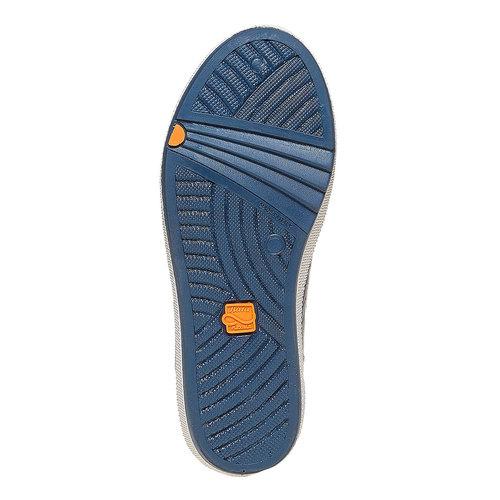 Sneakers da bambino flexible, blu, grigio, 311-2233 - 26