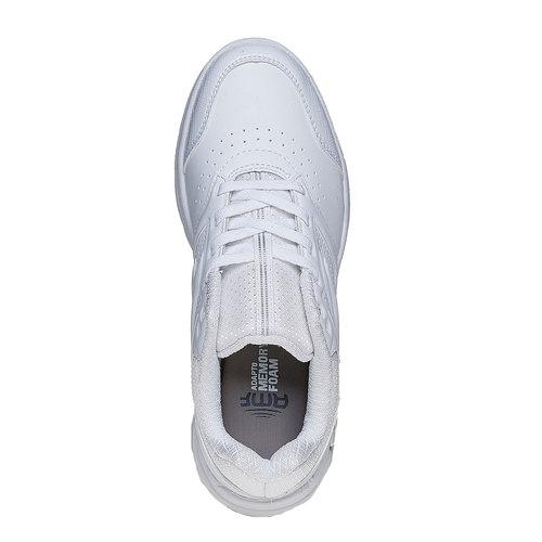 Sneakers bianche sportive da donna lotto, bianco, 501-1156 - 19