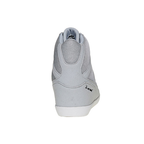 Sneakers da donna con zeppa le-coq-sportif, grigio, 503-2349 - 17
