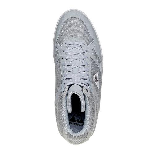 Sneakers da donna con zeppa le-coq-sportif, grigio, 503-2349 - 19