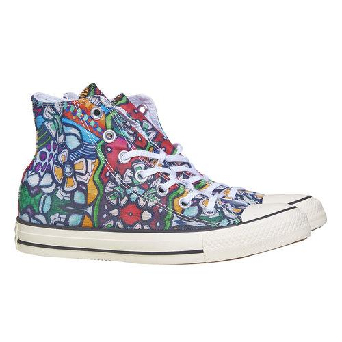 Sneakers alla caviglia con stampa colorata converse, 589-0316 - 26
