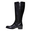 Stivali da donna di pelle con cinturini intorno alla caviglia bata, nero, 594-6585 - 19