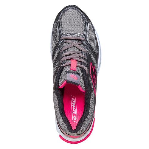 Sneakers sportive da donna lotto, grigio, 509-2370 - 19