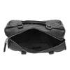 Borsetta in stile Bowling con cuciture bata, nero, 961-6191 - 15