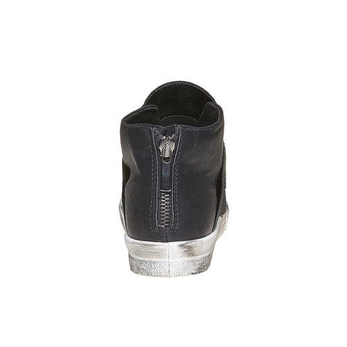 Scarpe da donna alla caviglia con strass north-star, nero, 541-6265 - 17