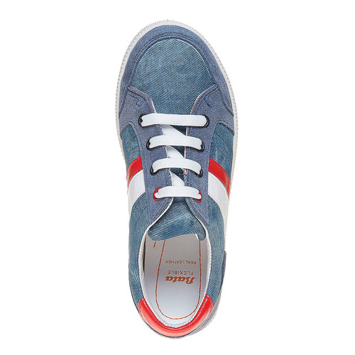 Sneakers con strisce di contrasto flexible, viola, 311-9235 - 19
