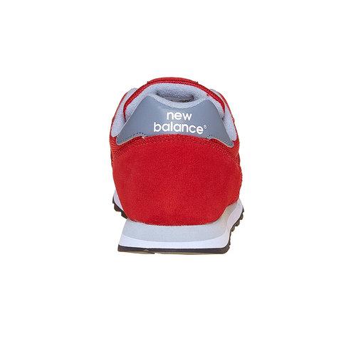 Sneakers rosse da uomo new-balance, rosso, 803-5371 - 17