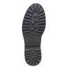 Tassel Loafer in pelle con suola appariscente bata, nero, 514-6199 - 26