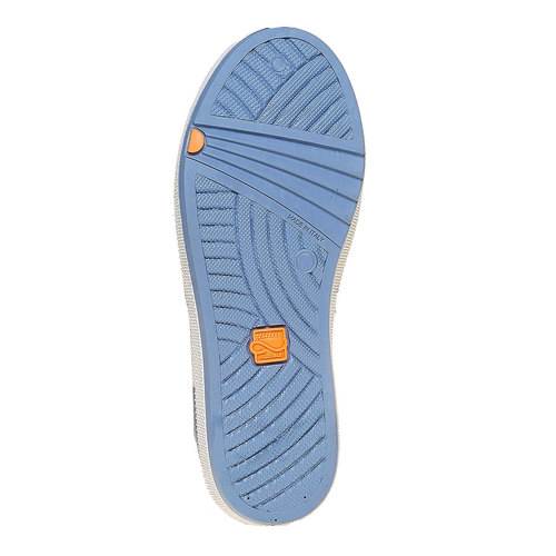 Sneakers con strisce di contrasto flexible, viola, 311-9235 - 26
