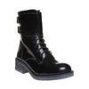 Scarpe da donna alla caviglia con lacci bata, nero, 591-6198 - 13