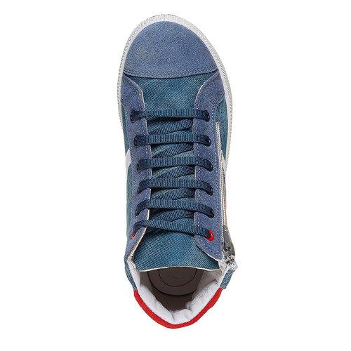 Sneakers da bambino alla caviglia flexible, viola, 311-9233 - 19