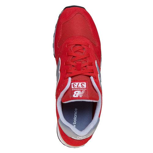 Sneakers rosse da uomo new-balance, rosso, 803-5371 - 19