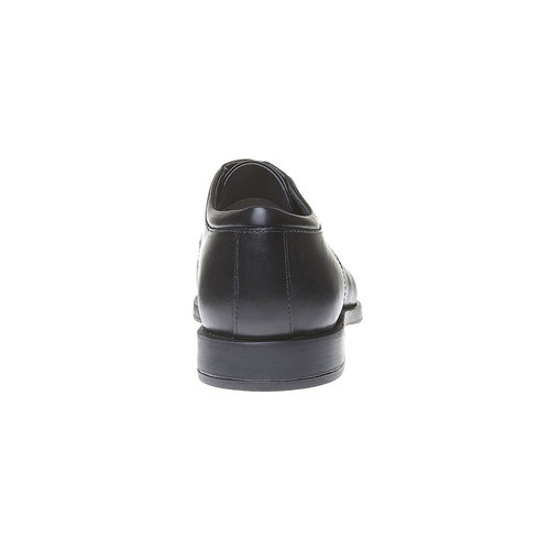 Scarpe basse Derby di pelle da uomo, nero, 824-6713 - 17