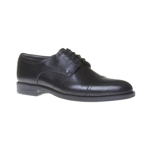 Scarpe basse Derby di pelle da uomo, nero, 824-6713 - 13