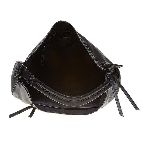 Borsetta nera da donna bata, nero, 961-6856 - 15