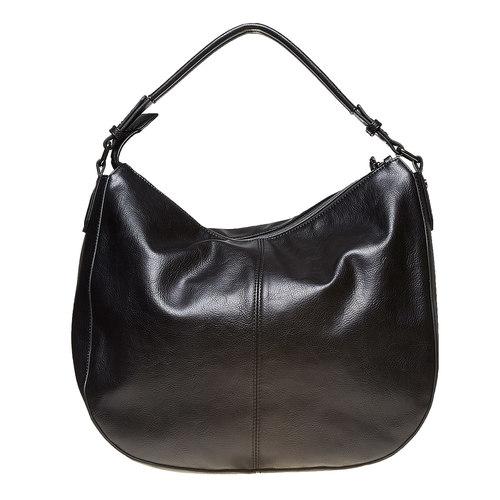 Borsetta nera da donna bata, nero, 961-6856 - 26