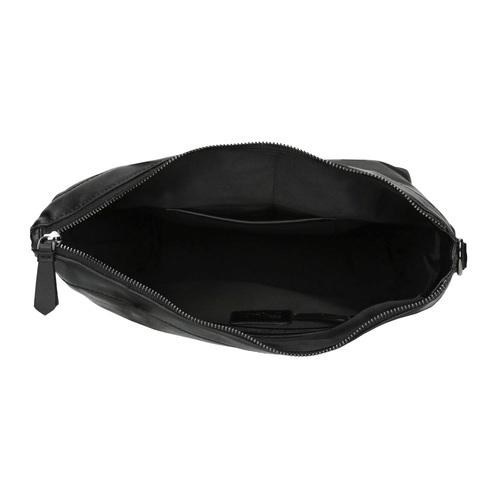 Borsetta in pelle con cinghia rimovibile bata, nero, 964-6234 - 15