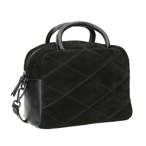 Piccola borsetta di pelle con cinghia bata, nero, 963-6133 - 13