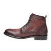 Scarpe di pelle alla caviglia bata, rosso, 894-5505 - 19
