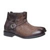 Scarpe da uomo alla caviglia con fibbia bata, marrone, 894-4482 - 26