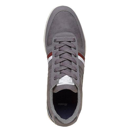 Sneakers informali da uomo bata, grigio, 841-2212 - 19