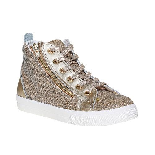 Sneakers dorate alla caviglia north-star, oro, 329-8236 - 13
