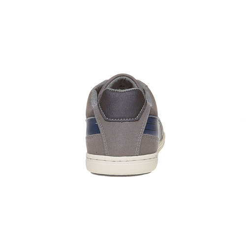 Sneakers informali da uomo bata, grigio, 841-2212 - 17