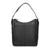 Borsetta di pelle nera in stile Hobo bata, nero, 964-6254 - 26