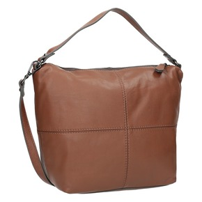 Borsetta Hobo in pelle bata, marrone, 964-4233 - 13