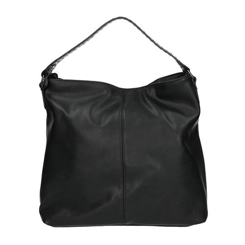 Borsetta da donna con cerniere bata, nero, 961-6127 - 19