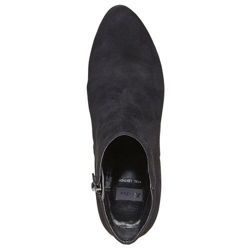 Scarpe alla caviglia con tacco alto bata, nero, 799-6527 - 19