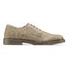 Scarpe basse casual di pelle bata, grigio, 823-2523 - 26