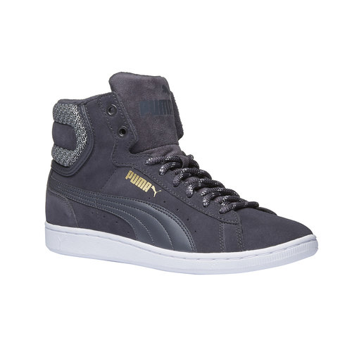 Calzatura sportiva puma, grigio, 503-2318 - 13
