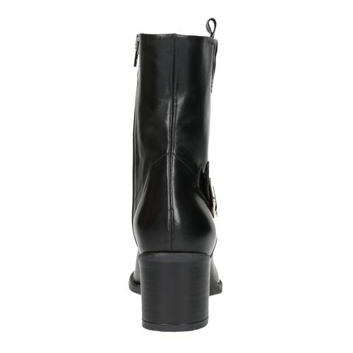 Stivaletti da donna alla caviglia bata, nero, 694-6359 - 17