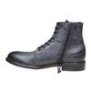 Scarpe da uomo in pelle alla caviglia bata, viola, 894-9483 - 19