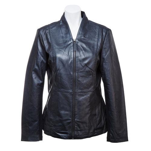 Giacca da donna in pelle bata, nero, 974-6174 - 13