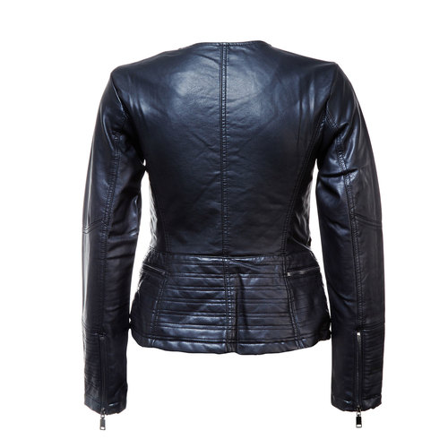 Giacca da donna con cerniera trasversale bata, nero, 971-6186 - 26