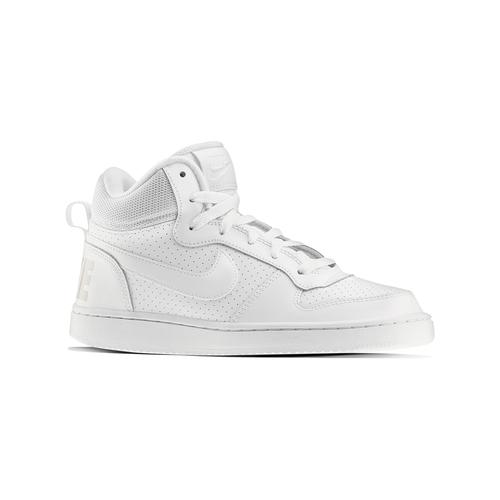Sneakers bianche sopra la caviglia nike, bianco, 401-1237 - 13