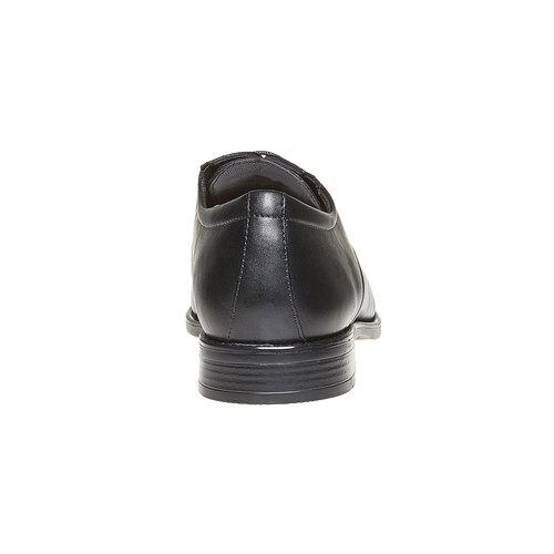 Scarpe basse da uomo Derby in pelle bata, nero, 824-6435 - 17