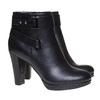 Stivaletti da donna alla caviglia bata, nero, 791-6302 - 26