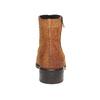 Scarpe di pelle alla caviglia bata, marrone, 593-3522 - 17