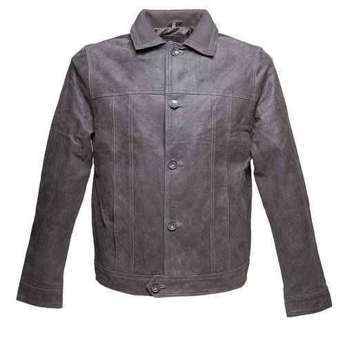 Giacca da uomo con colletto bata, grigio, 973-2110 - 13