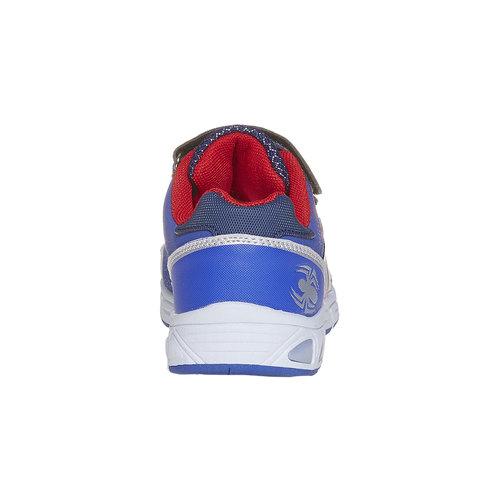 Sneakers da bambino con chiusure a velcro spiderman, viola, 311-9230 - 17