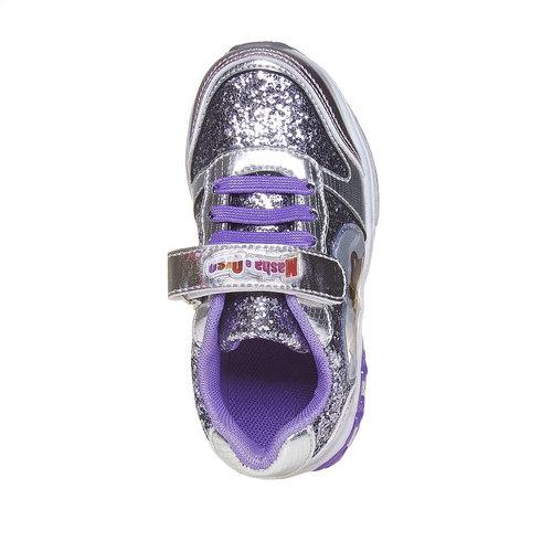 Sneakers da bambino con glitter, grigio, 229-2171 - 19